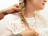 Romantic DIY Fishtail Braid For Summer13