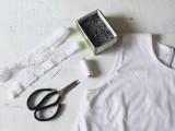 Romantic DIY Lace-Trimmed Top2