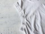 Romantic DIY Lace-Trimmed Top6