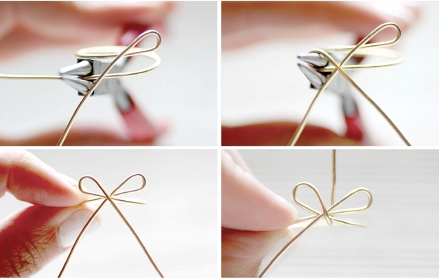 Picture Of Simple And Elegant DIY Wire Bow Ring 6