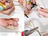Simple DIY Heart Bracelet2