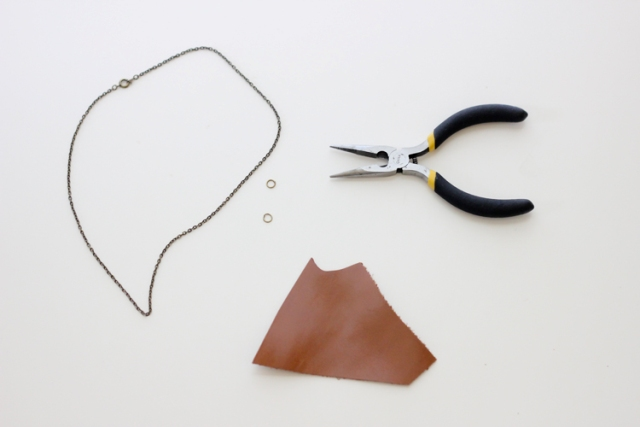 Picture Of Simple DIY Leather Necklace 3