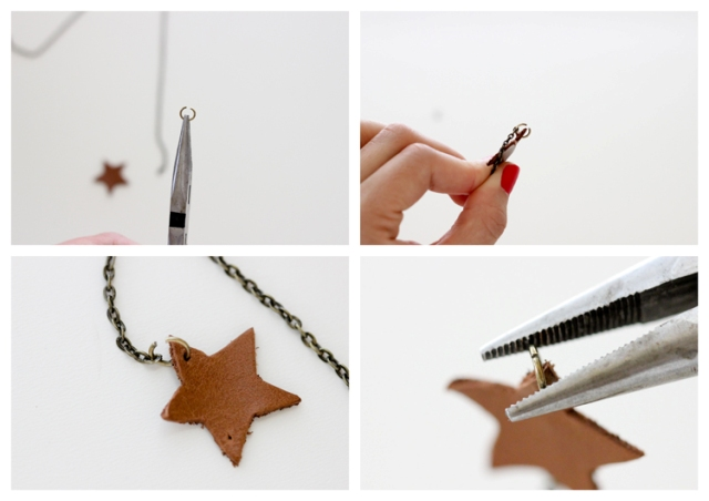 Picture Of Simple DIY Leather Necklace 7