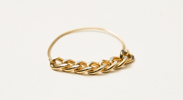 Simple DIY Wire Chain Bracelet