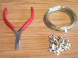 Simple DIY Wire Chain Bracelet2