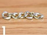 Simple DIY Wire Chain Bracelet3