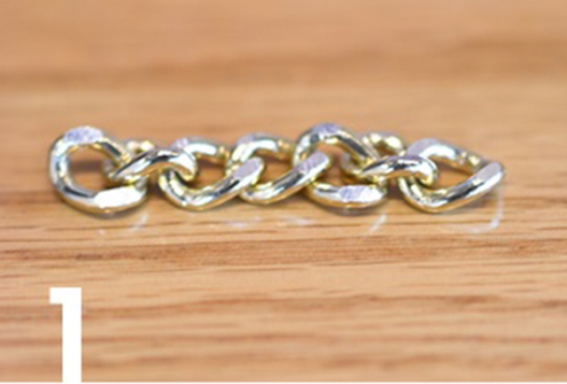 Picture Of Simple DIY Wire Chain Bracelet 3