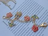 Spring DIY Enamel Charm Bracelet