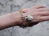 Spring DIY Enamel Charm Bracelet2