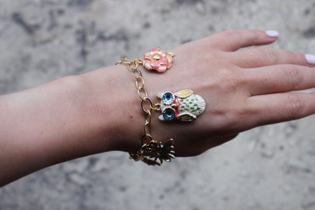 Picture Of Spring DIY Enamel Charm Bracelet 2