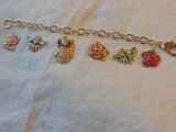 Spring DIY Enamel Charm Bracelet7