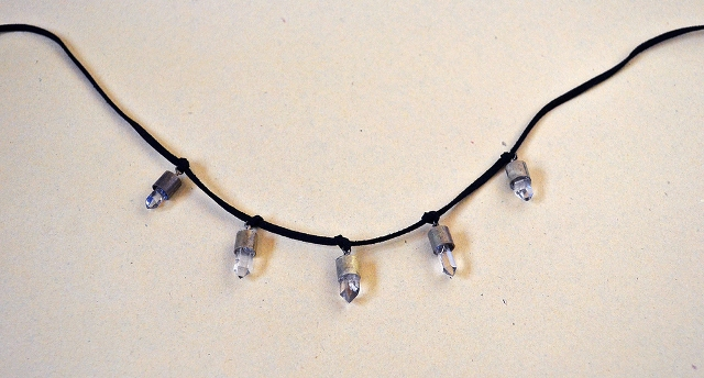 Picture Of Stunning DIY Faux Bullet Shell Crystal Necklace 8