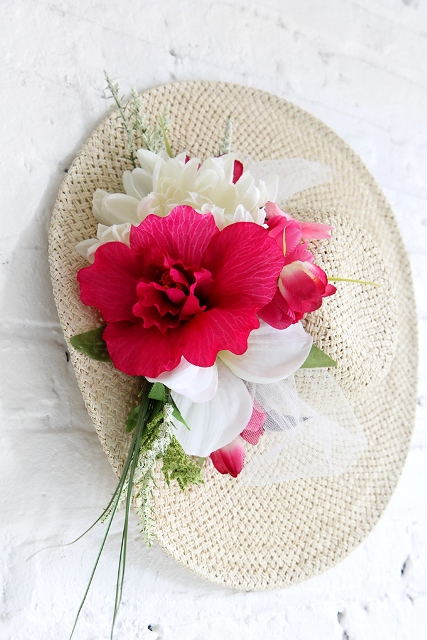 Stunning DIY Flower Hat For Summer Days