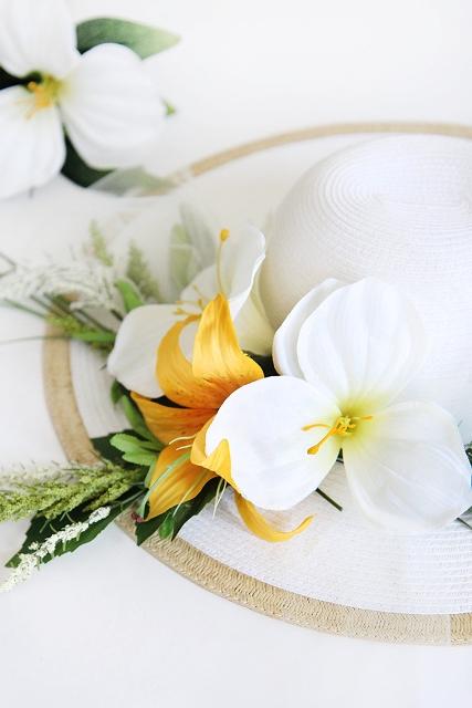 Stunning DIY Flower Hat For Summer Days
