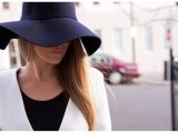 Stylish And Romantic Looks With Wide Brim Hat 14