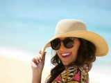 Stylish And Romantic Looks With Wide Brim Hat 5
