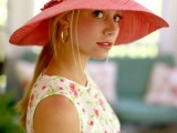 Stylish And Romantic Looks With Wide Brim Hat 7
