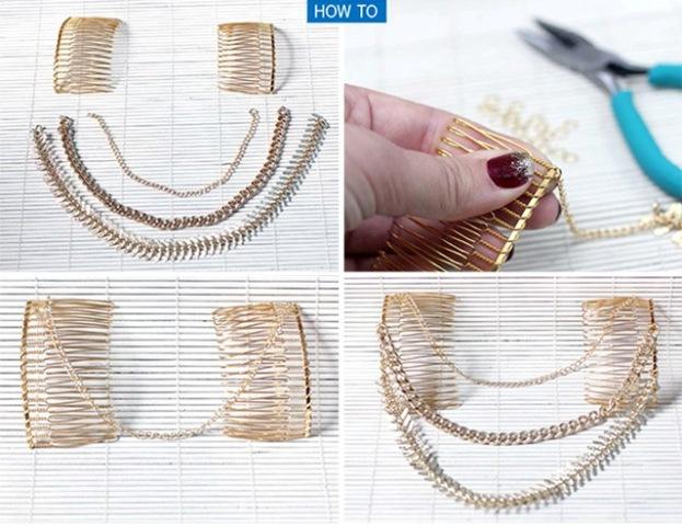 Boho-Inspired DIY Hair Chain