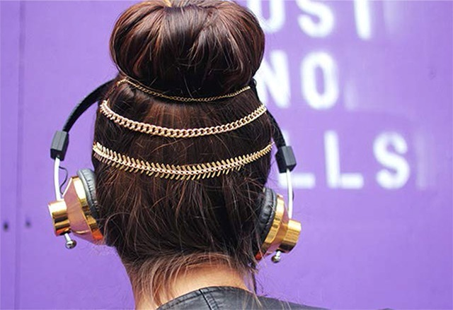 Picture Of Stylish DIY Hair Chain 4