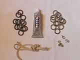 Stylish DIY Metal Ring Necklace2