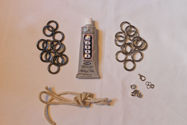 Picture Of Stylish DIY Metal Ring Necklace 2