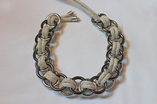 Picture Of Stylish DIY Metal Ring Necklace 7