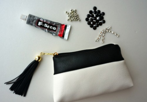 Stylish DIY Monogram Clutch