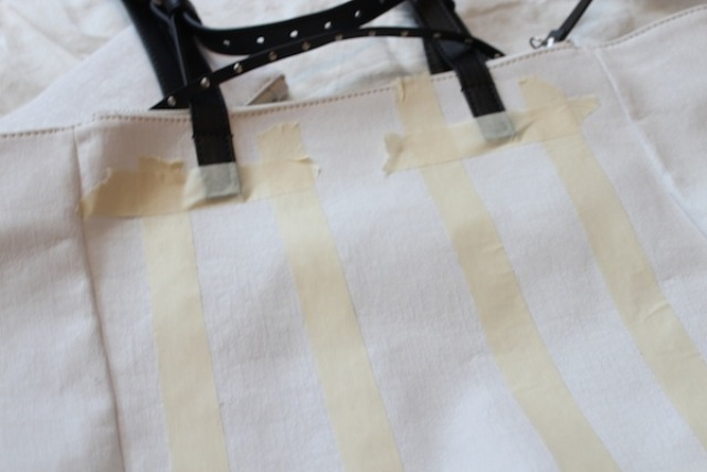 Picture Of Stylish DIY Striped Tote Bag 3