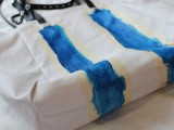Stylish DIY Striped Tote Bag5