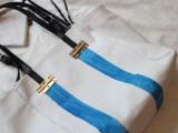 Stylish DIY Striped Tote Bag7