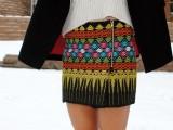 Stylish DIY Zip Skirt