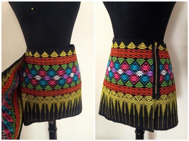 Picture Of Stylish DIY Zip Skirt 2