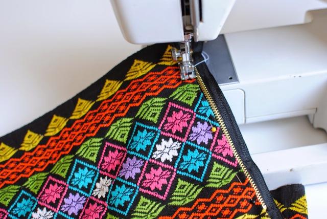 Picture Of Stylish DIY Zip Skirt 3