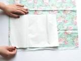 Summer DIY Floral Appliqued Striped Shirt4