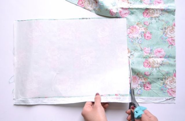Picture Of Summer DIY Floral Appliqued Striped Shirt 6