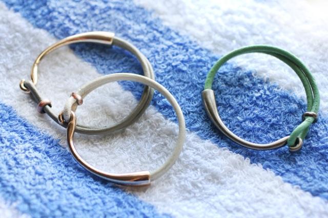 Picture Of Summer DIY Leather Hook Bracelets 4