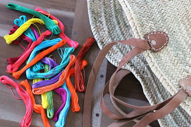 Picture Of Summer DIY Tassel Tote For Picnics 2