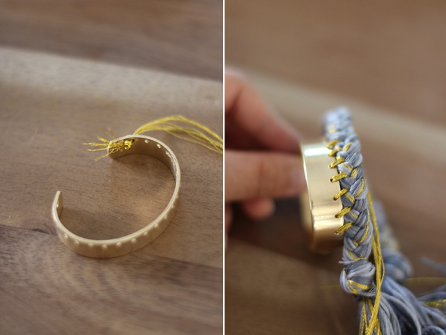 Picture Of Sunny DIY Braided Cuff 5