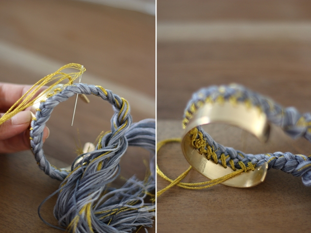 Picture Of Sunny DIY Braided Cuff 6