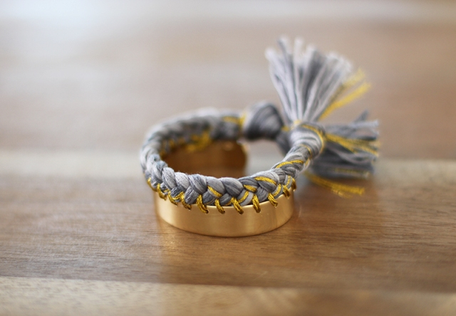 Picture Of Sunny DIY Braided Cuff 7