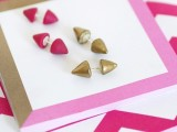 Super Cool DIY Double-Sided Spiked Earrings2