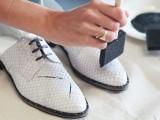 Super Cool DIY Paint Splattered Shoes 7