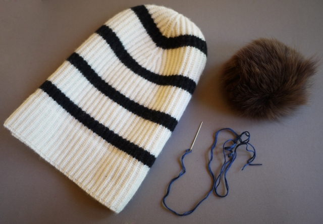 Picture Of Super Cool DIY Pom Pom Beanie 2