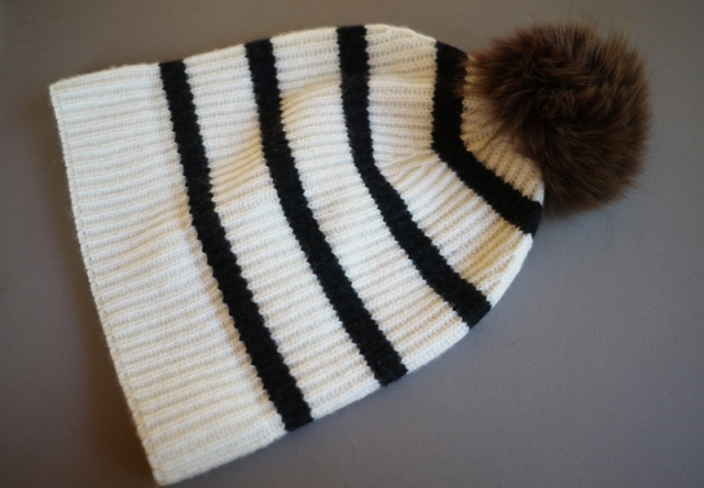 Picture Of Super Cool DIY Pom Pom Beanie 8