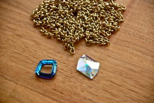 Super Easy To Make DIY Swarovski Bracelet
