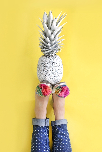 Super Funny DIY Koosh Ball Flats