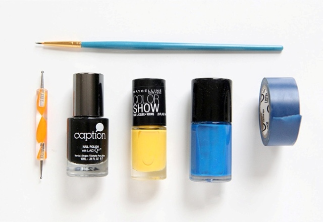 Picture Of Super Funny DIY Open Eyed Nail Art 2