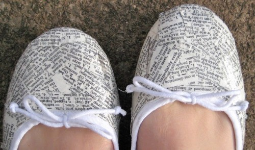 Super Original DIY Dictionary Shoes