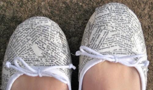 Super Original DIY Dictionary Shoes