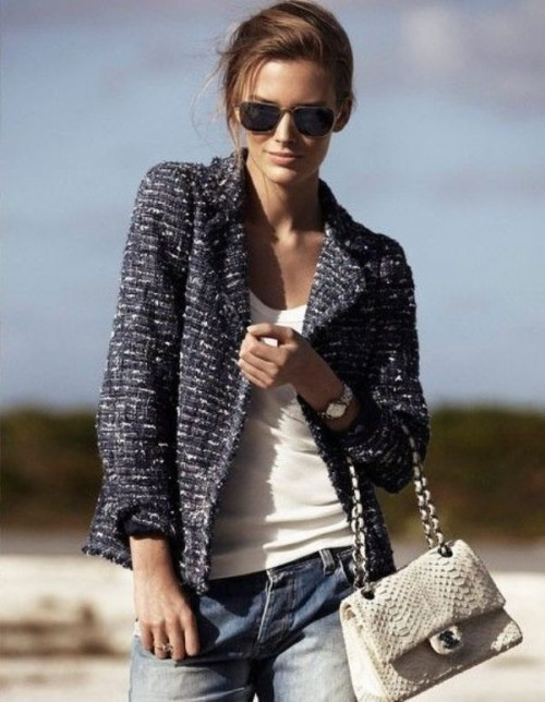 Trendy Tweed Mockingbirds Jacket Looks